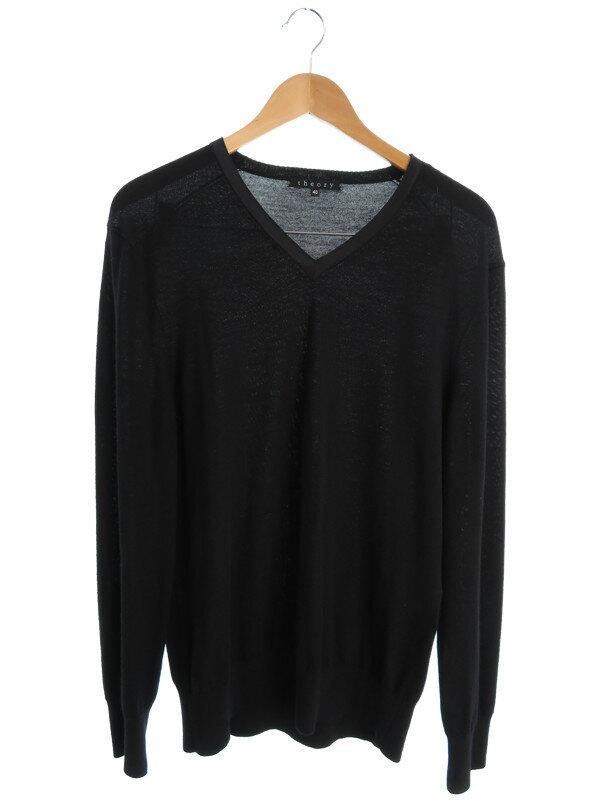 【Theory】【トップス】セオリー『Vネックニットセーター size40』メンズ 1週間保証【中古】