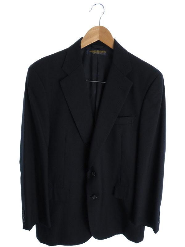 【BROOKS BROTHERS】【2ピース】【セットアップ】ブルックスブラザーズ『スーツ上下セット size上AB5 下34』メンズ 1週間保証【中古】