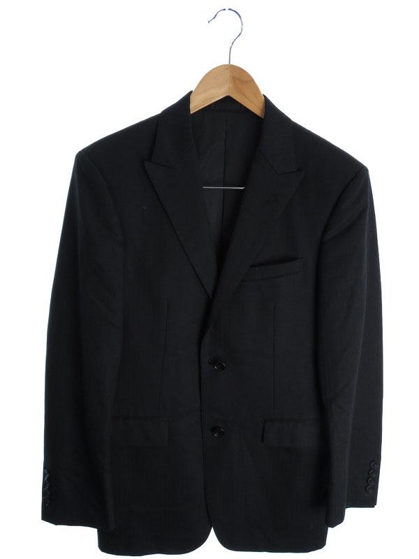 【BURBERRY BLACK LABEL】【セットアップ】【2ピース】バーバリーブラックレーベル『スーツ上下セット size38R』メンズ 1週間保証【中古】