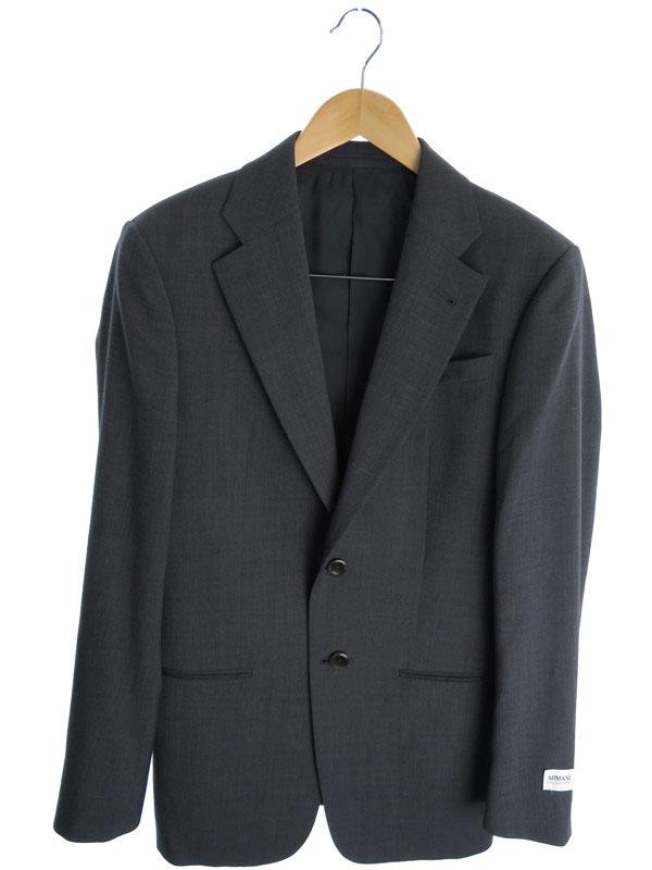 【ARMANI COLLEZIONI】【2ピース】【セットアップ】アルマーニコレッツォーニ『スーツ上下セット size46/R』メンズ 1週間保証【中古】