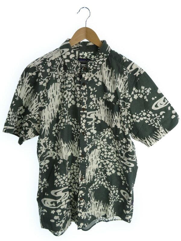 【PATAGONIA】【トップス】パタゴニア『半袖シャツ sizeL』メンズ 1週間保証【中古】