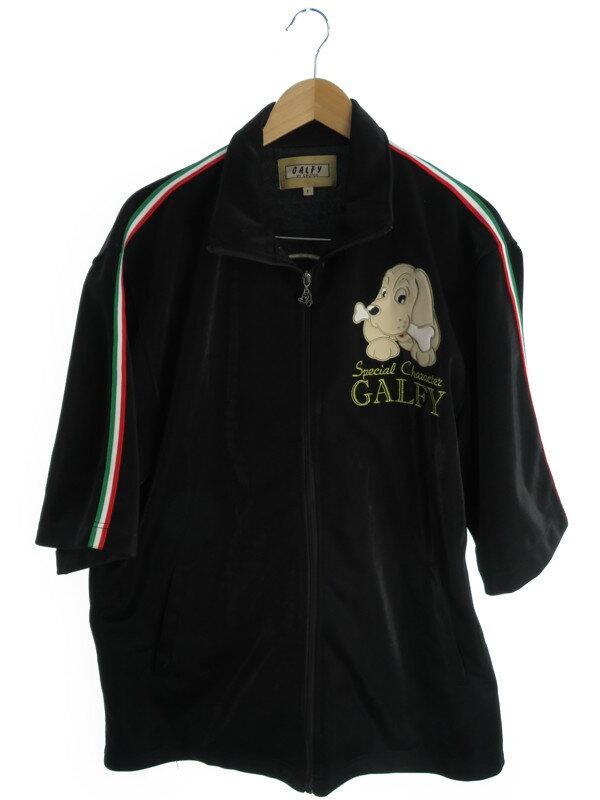 【GALFY】【2ピース】【セットアップ】ガルフィー『半袖ジャージ上下セット sizeF』メンズ 1週間保証【中古】