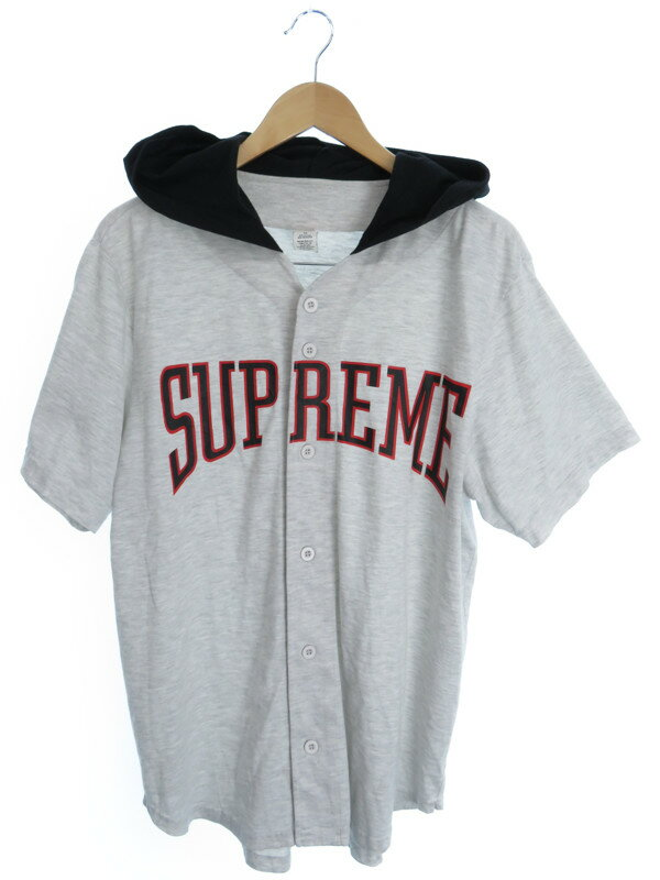 【Supreme】【2016年春夏】シュプリーム『ベースボール 半袖シャツ sizeM』メンズ シャツパーカー 1週間保証【中古】