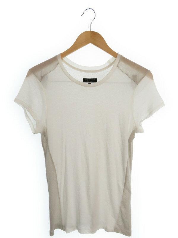 【rag&bone】【トップス】ラグアンドボーン『ピマ・コットン混 半袖カットソー sizeM』メンズ Tシャツ 1週間保証【中古】