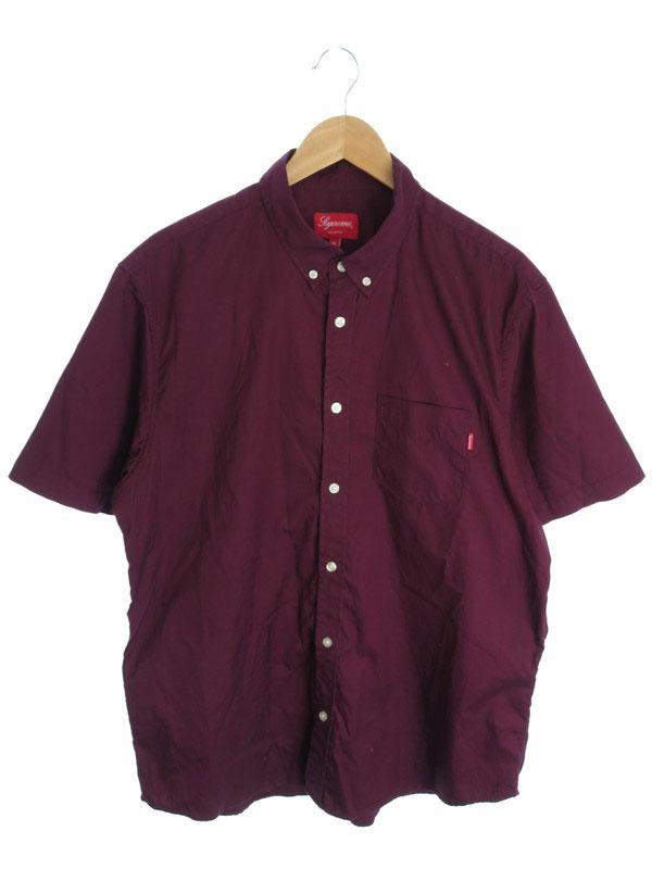 【SUPREME】【トップス】シュプリーム『コットン半袖ボタンダウンシャツ sizeXL』メンズ 1週間保証【中古】