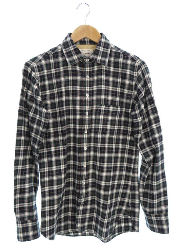 【rag&bone】【トップス】ラグアンドボーン『長袖チェックシャツ sizeXS』メンズ 1週間保証【中古】