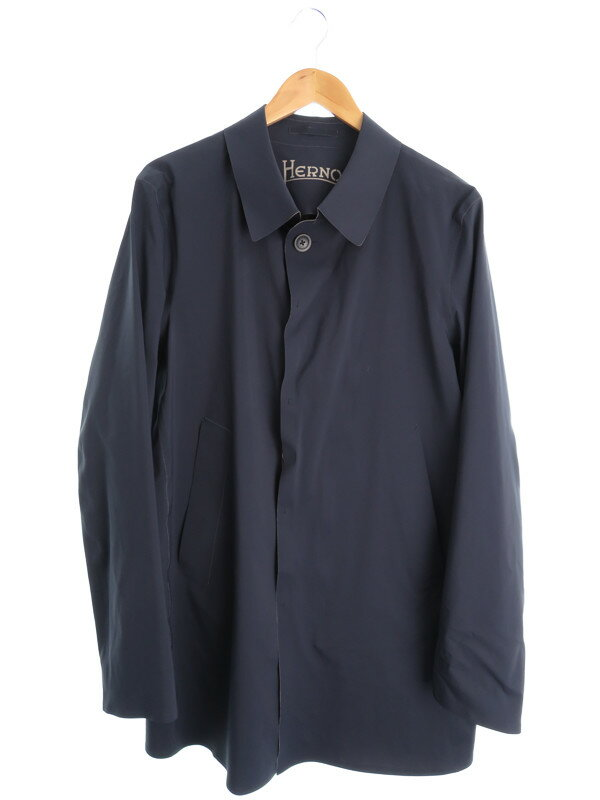 【HERNO】【アウター】ヘルノ『レインコート  size50』メンズ 1週間保証【中古】