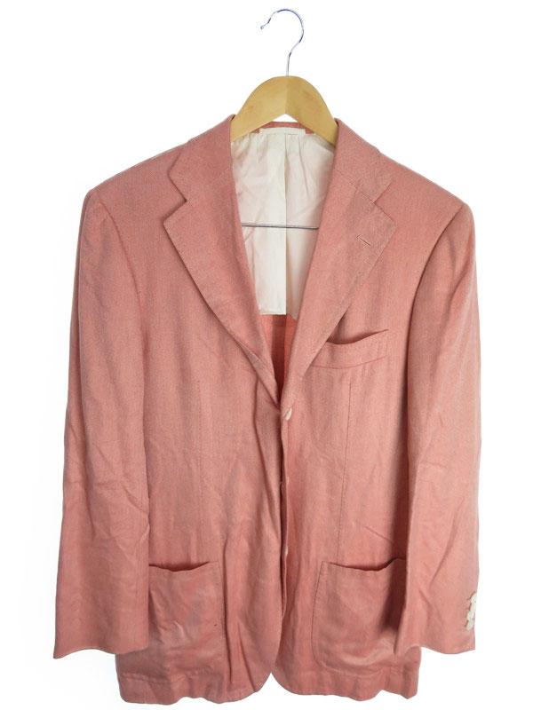 【Cesare Attolini】【アウター】チェサレアットリーニ『テーラードジャケット size48』メンズ ブレザー 1週間保証【中古】