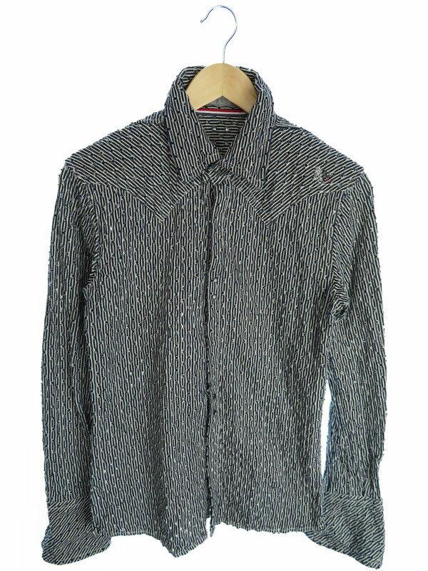 【FranCisT_MOR.K.S.】【トップス】フランシストモークス『長袖シャツ size2』メンズ 1週間保証【中古】