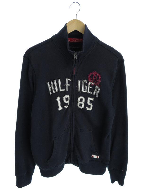 【TOMMY HILFIGER】【アウター】トミーヒルフィガー『スウェットジャケット sizeS』メンズ ブルゾン 1週間保証【中古】