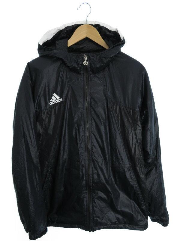 【adidas】【アウター】アディダス『中綿フードジャケット sizeL』メンズ ジャンバー 1週間保証【中古】