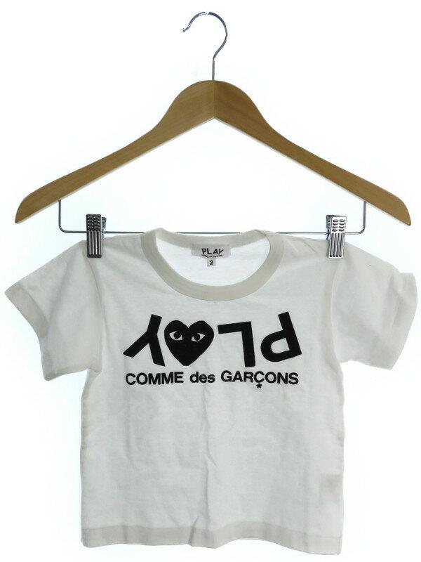 【PLAY COMME des GARCONS】【子供服】【ベビー】【男の子】プレイコムデギャルソン『半袖Tシャツ size2』メンズ カットソー 1週間保証【中古】