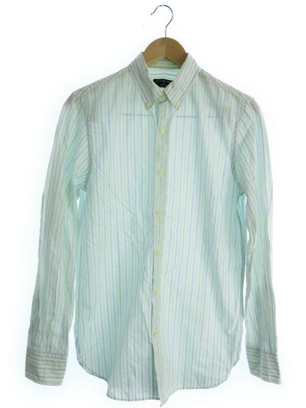 【SHIPS】【GUY ROVER】【トップス】シップス『ストライプ柄長袖シャツ sizeM』メンズ  Yシャツ 1週間保証【中古】