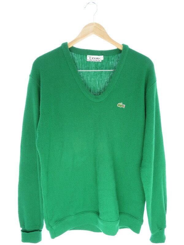 【LACOSTE】【トップス】ラコステ『Vネックセーター sizeL』メンズ ニット 1週間保証【中古】