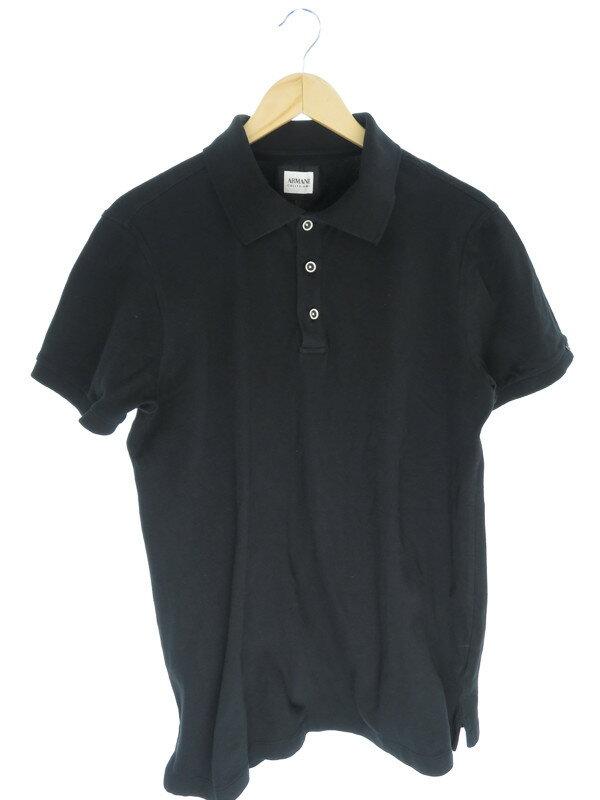 【ARMANI COLLEZIONI】【トップス】アルマーニコレッツォーニ『半袖ポロシャツ sizeXL』メンズ 1週間保証【中古】