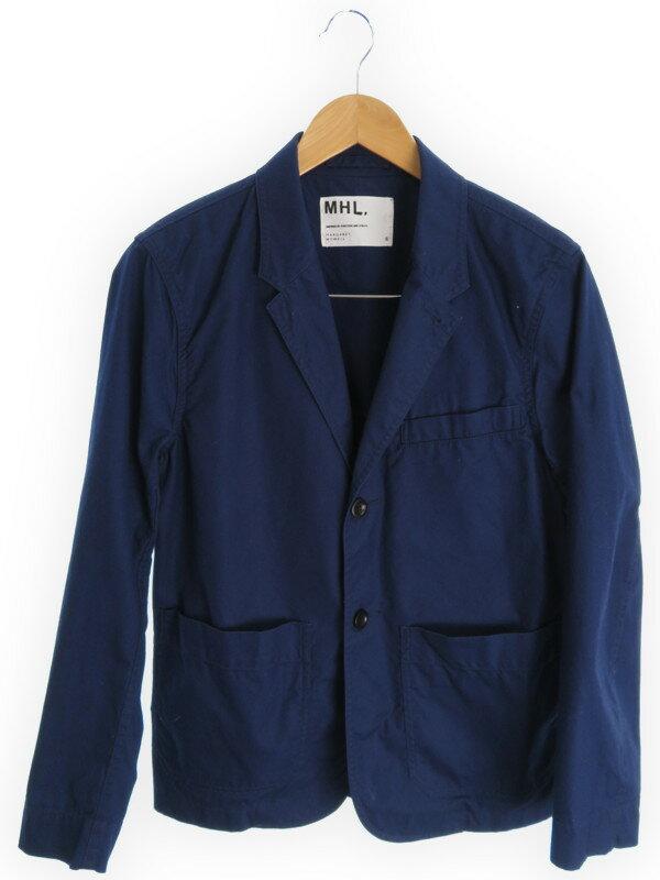 【MHL.】【アウター】エムエイチエル『テーラードジャケット sizeS』メンズ 1週間保証【中古】