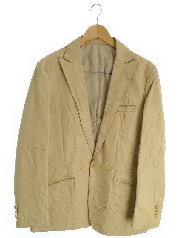 【TAKAQ】【アウター】タカキュー『レザージャケット sizeL』メンズ 1週間保証【中古】
