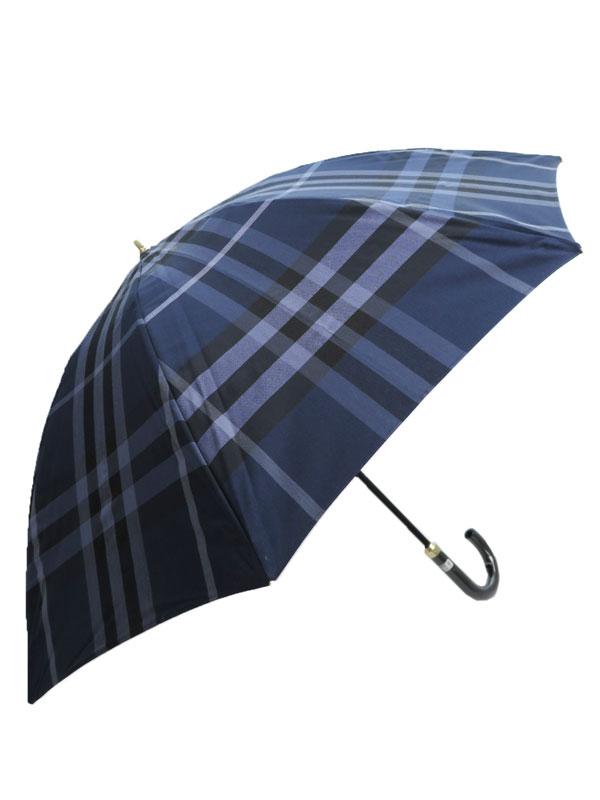 【BURBERRY】【晴雨兼用】バーバリー『チェック柄傘』レディース 1週間保証【中古】