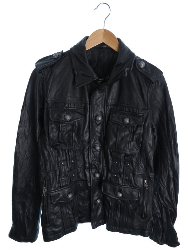 【RUPERT】【アウター】ルパート『レザージャケット size3』メンズ 革ジャン 1週間保証【中古】