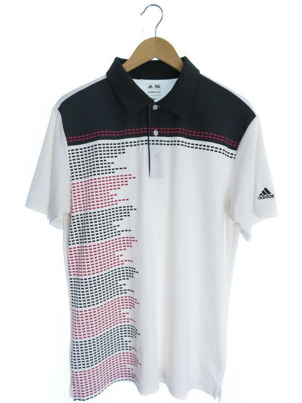 【adidas】【トップス】アディダス『半袖ポロシャツ sizeO/XG』メンズ 1週間保証【中古】