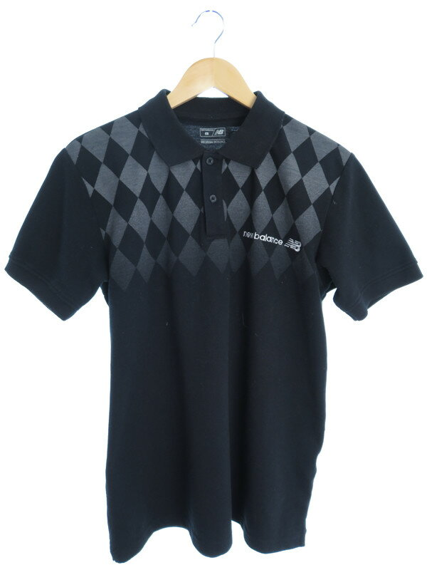 【New Balance】【トップス】ニューバランス『半袖ポロシャツ sizeL』メンズ 1週間保証【中古】