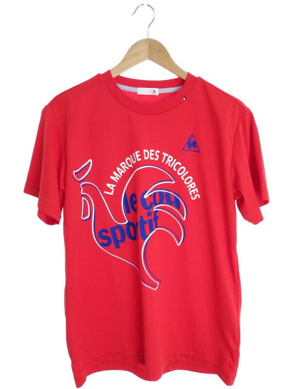 【le coq sportif】【トップス】ルコックスポルティフ『半袖Tシャツ size L』メンズ 1週間保証【中古】