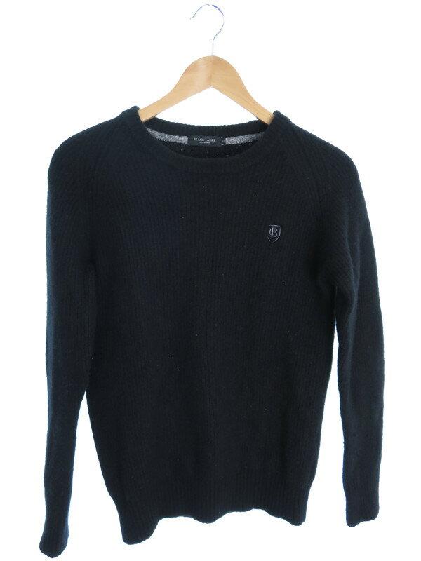 【BLACK LABEL CRESTBRIDGE】【トップス】ブラックレーベルクレストブリッジ『長袖ニット size2』メンズ セーター 1週間保証【中古】
