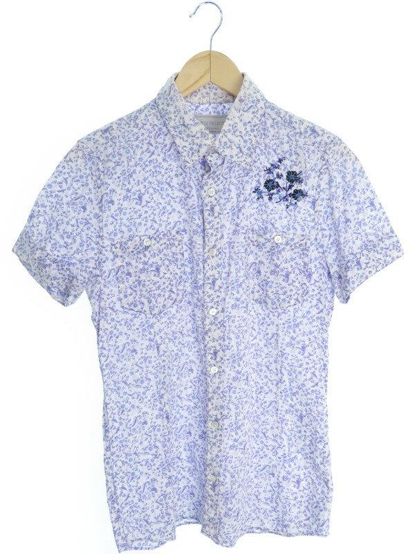 【COMME CA COLLECTION】【トップス】コムサコレクション『半袖 花柄シャツ sizeM』メンズ 1週間保証【中古】