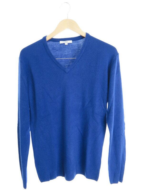 【imp】【トップス】インプ『Vネック長袖ニット sizeS』メンズ セーター 1週間保証【中古】