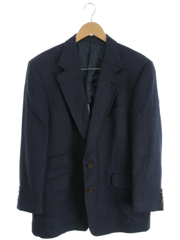 【dunhill】【アウター】ダンヒル『リネン混テーラードジャケット size52』メンズ ブレザー 1週間保証【中古】