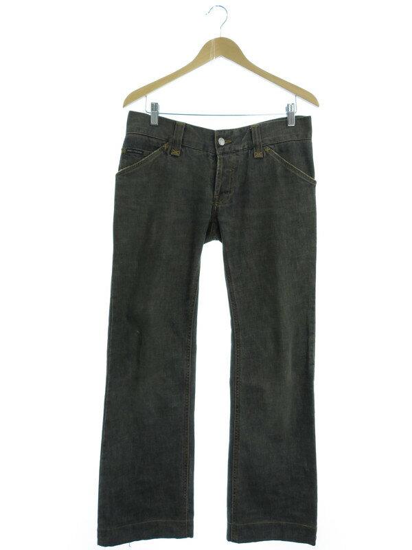 【DOLCE&GABBANA】【ドルガバ】【ボトムス】【ジーパン】ドルチェアンドガッバーナ『ジーンズ size46』メンズ デニムパンツ 1週間保証【中古】