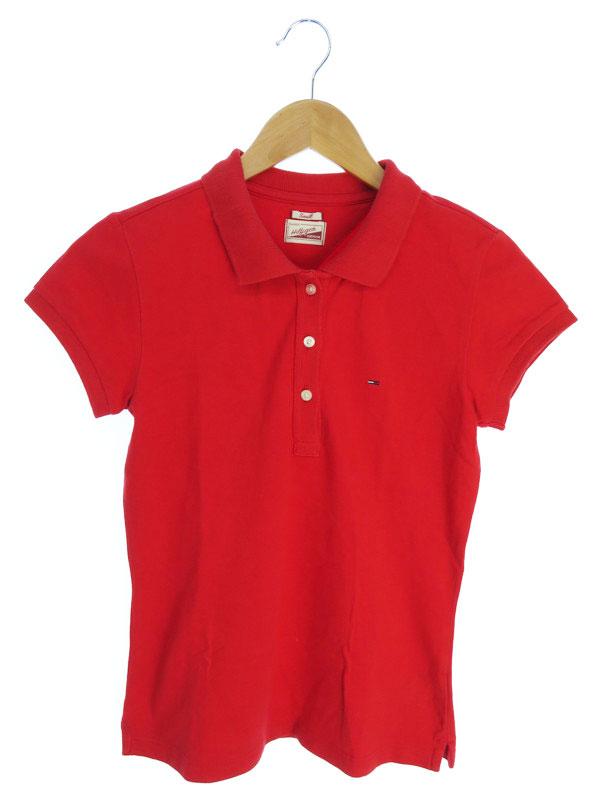 【HILFIGER DENIM】【トップス】ヒルフィガーデニム『半袖ポロシャツ sizeS』レディース 1週間保証【中古】