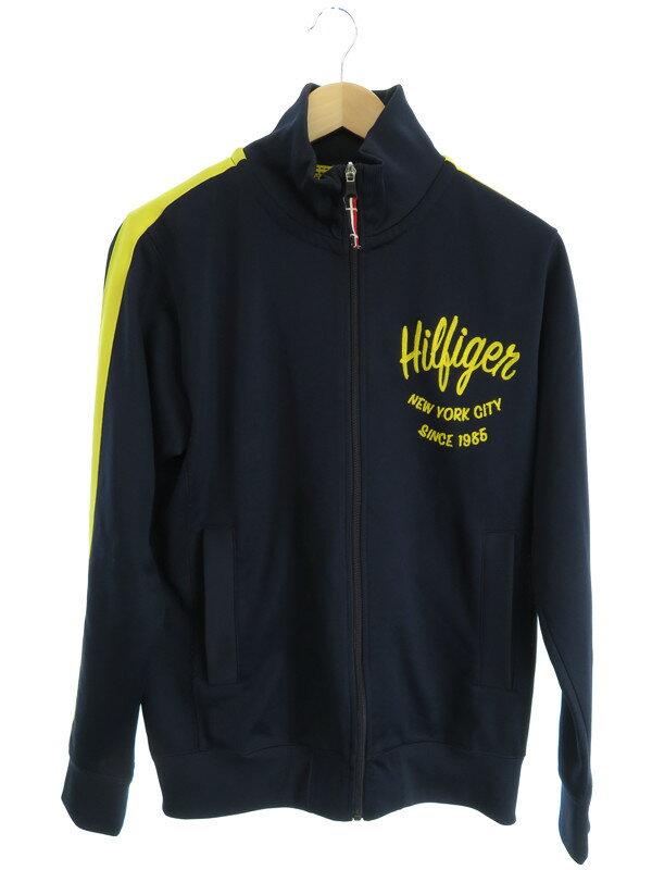【TOMMY HILFIGER】【アウター】トミーヒルフィガー『トラックジャケット sizeM』メンズ 1週間保証【中古】