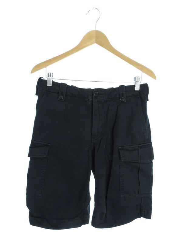 【green】【ボトムス】グリーン『ショートカーゴパンツ size2』メンズ 半ズボン 1週間保証【中古】