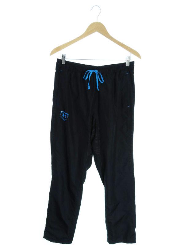 【UNDER ARMOUR】【ボトムス】アンダーアーマー『ジャージパンツ sizeLG』メンズ ズボン 1週間保証【中古】
