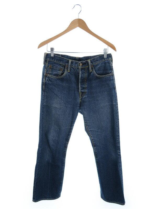 【EVISU】【ジーパン】【ボトムス】エヴィス『刺繍入りジーンズ size30』レディース デニムパンツ 1週間保証【中古】
