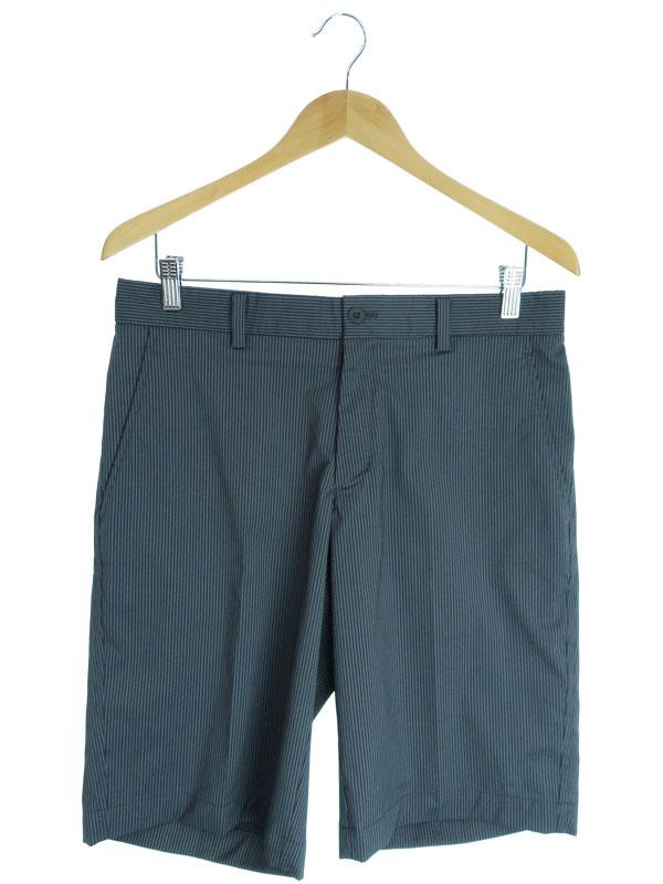 【NIKE GOLF】【ボトムス】【ゴルフウェア】ナイキゴルフ『ストライプ柄ハーフパンツ size32 L』メンズ 半ズボン 1週間保証【中古】
