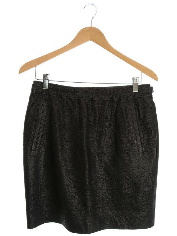 【ISABEL MARANT ETOILE】【ボトムス】イザベルマランエトワール『レザースカート size40』レディース 1週間保証【中古】