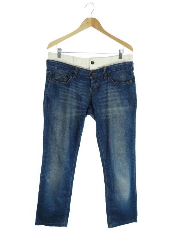 【D&G】【ボトムス】【ジーパン】ディーアンドジー『ジーンズ size34』メンズ デニムパンツ 1週間保証【中古】