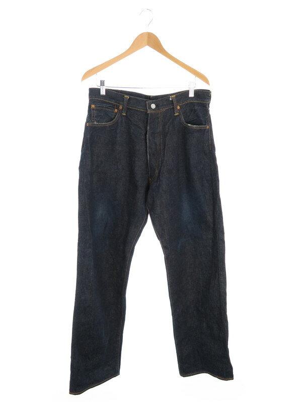 【EVISU】【ジーパン】【ボトムス】エヴィス『プリントジーンズ size36』メンズ デニムパンツ 1週間保証【中古】