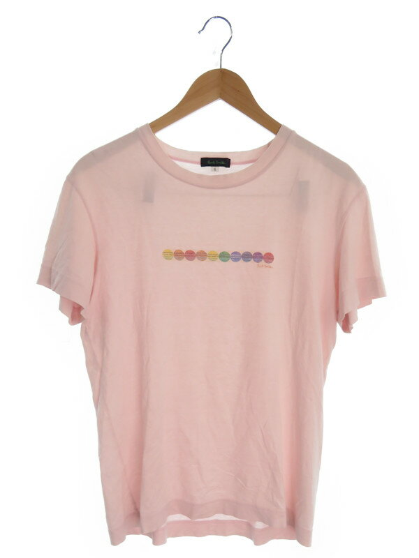 【Paul Smith LONDON】【トップス】ポールスミス『コットン半袖Tシャツ sizeL』メンズ カットソー 1週間保証【中古】