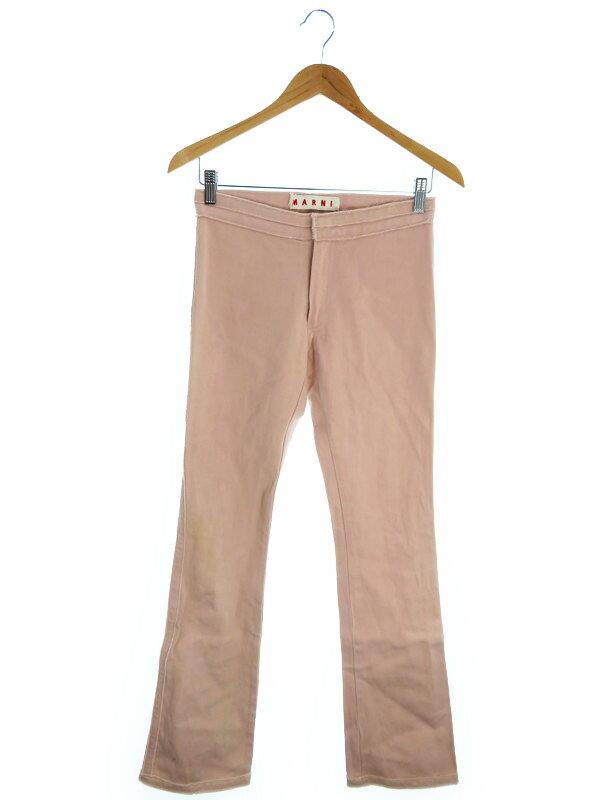 【MARNI】【ボトムス】マルニ『コットンパンツ size38』レディース ズボン 1週間保証【中古】