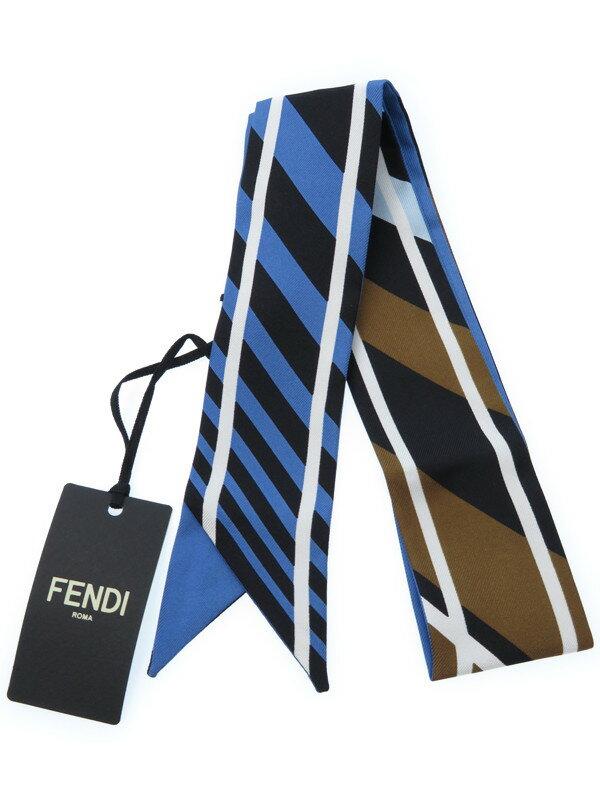 【FENDI】フェンディ『ツイリー シルクスカーフ』レディース 1週間保証【中古】
