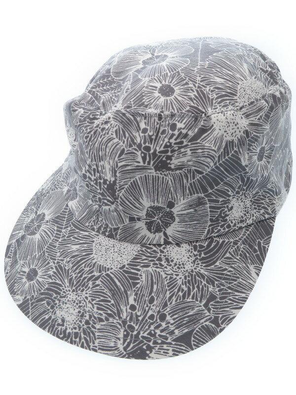 【THE NORTH FACE】ザノースフェイス『花柄キャップ sizeL』ユニセックス 帽子 1週間保証【中古】