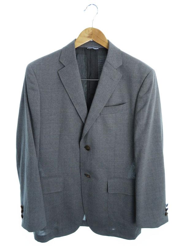 【Stanley Blacker】【アウター】スタンリーブラッカー『ウールテーラードジャケット sizeXS』メンズ ブレザー 1週間保証【中古】