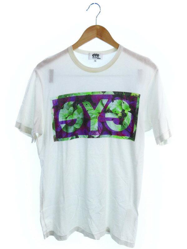 【JUNYA WATANABE COMME des GARCONS】【eYe】【トップス】ジュンヤワタナベコムデギャルソン『半袖Tシャツ sizeL』メンズ 1週間保証【中古】