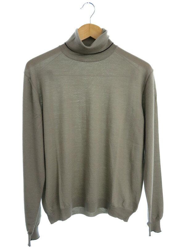 【malo】【トップス】マーロ『タートルネックセーター size48』メンズ ニット 1週間保証【中古】