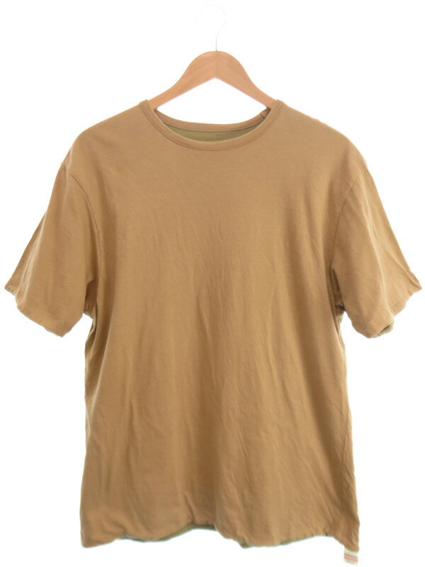 【Lafayette】【トップス】ラファイエット『リバーシブル半袖Tシャツ sizeMEDIUM』メンズ 1週間保証【中古】