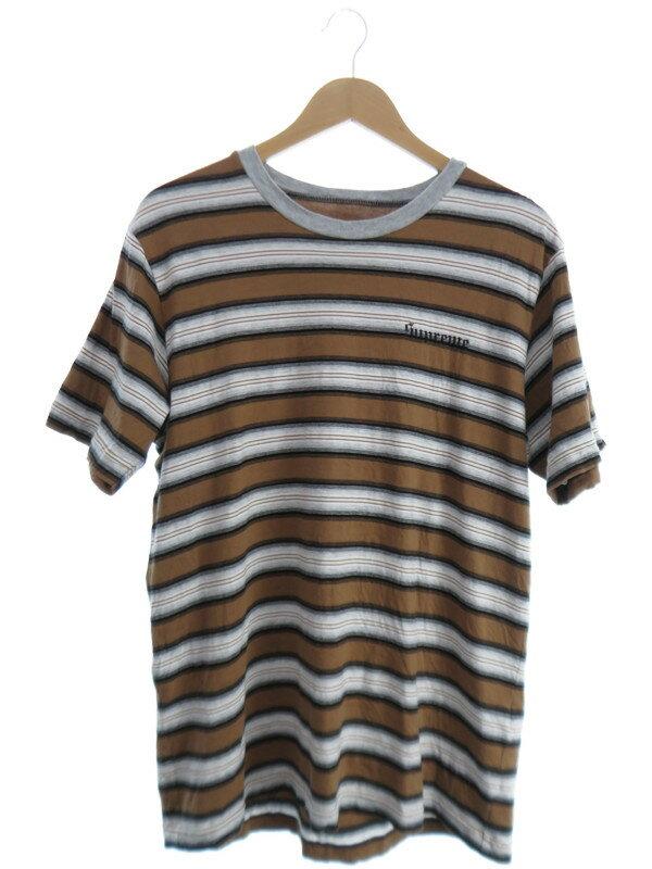 【Supreme】【トップス】シュプリーム『ボーダー柄半袖Tシャツ sizeM』メンズ カットソー 1週間保証【中古】