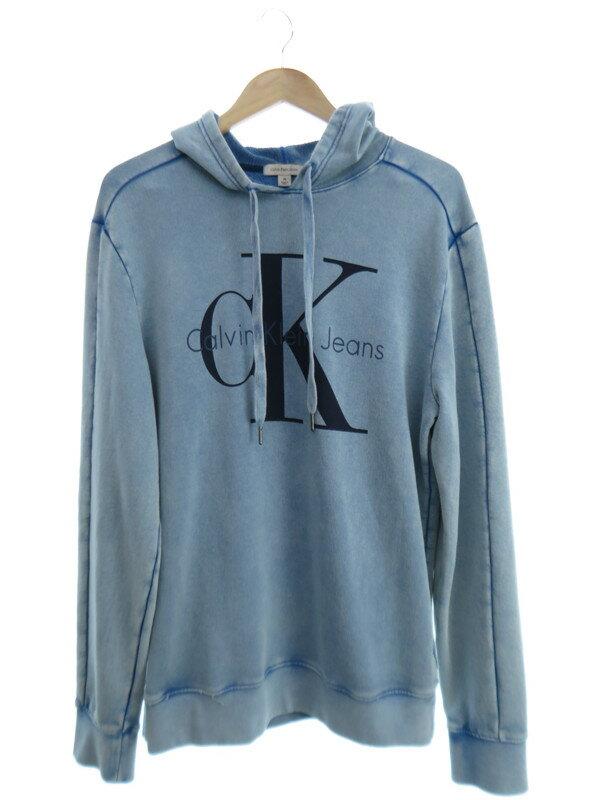 【Calvin Klein】カルバンクライン『プルオーバーパーカー sizeM』メンズ 1週間保証【中古】